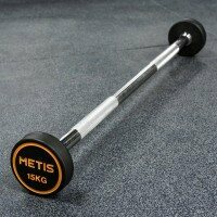 METIS Rubber Barbell Weights [15kg]
