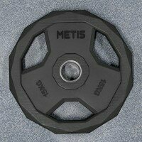METIS PU Pro Olympic Weight Plates [Pair of 15kg Weight Plates]