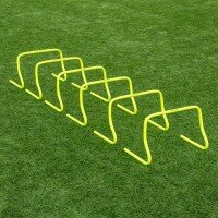 12 Inch FORZA Speed Training Hurdles [6 Pack]