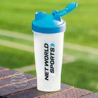 Bouteille Shaker Protéine (700ml) - Pack de 3 - Bleu
