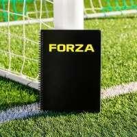 FORZA Fußballtrainer & Training Notizbuch [A4/A5]