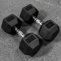 METIS Hex Dumbbell Weights [20kg]
