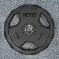 METIS PU Pro Olympic Weight Plates [Pair of 44lbs Weight Plates]
