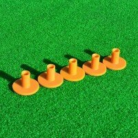 FORB 70mm Rubber Driving Range Tees - 5 pack