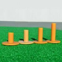 FORB Rubber Driving Range Tees - 4 Pack Mixed Sizes
