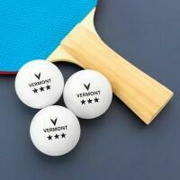 Vermont Table Tennis Balls - 3 Star Pack of 3