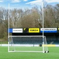 FORZA Alu110 Freestanding Gaelic (GAA) & Hurling Goal [10 x 6] - Pair