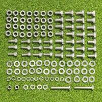Nuts And Bolts Packs For FORZA Alu110 Socketed Goals - 24 x 8