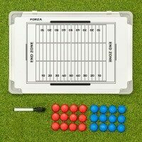 FORZA 45cm x 30cm Double-Sided American Football Coaching Tactics Boards