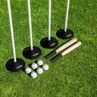 Classic Rounders Set [Bats, Balls, Poles, Bases & Carry Bag]