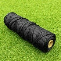TITAN Net Repair Twine [4mm Thick - 1kg Roll - Black]