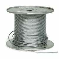 4mm Galvanised Steel Cable - 330ft Reel