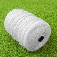 TITAN Garden & Home Craft DIY Synthetic Twine [5/32in Tie Twine - 2.2lbs Roll - White]