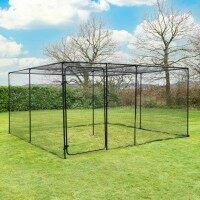 Harrier Fruit & Veg Cage [4m x 4m - 20mm Netting]