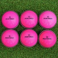 Cricket 'Incrediball' Practice Balls [Box of 6] - Senior/Pink