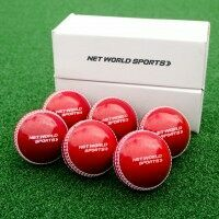Cricket 'IncrediBall' Practice Balls [Box of 6] Red/Senior