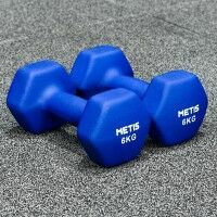 METIS Neopren Hex Kurzhanteln x2 [6kg]