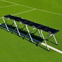 Portable Aluminium Team Benches [4 Seater]