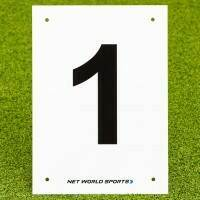 A4 Tennis Court & Sports Pitch Number Plates #1
