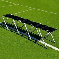 12 Seater Portable Aluminium Team Benches