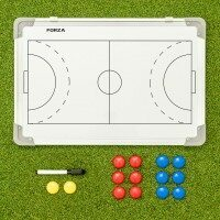 FORZA 45cm x 30cm Double-Sided Handball Coaching Tactics Boards - With Carry Bag