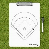 FORTRESS Baseball Coaching Clipboard