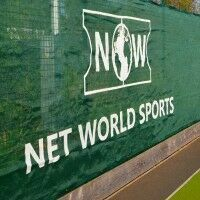 Baseball Windscreen - Green 6ft x 60ft with Logo