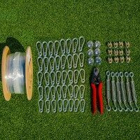 Wire Tension Kits For Hanging Netting (70m Wire)