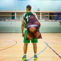 Drawstring Basketball Carry Bag