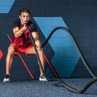 METIS Training Battle Ropes [30ft | 14lbs] - 1.5in