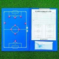 A4 Magnetic Football Coaches Tactics Folder