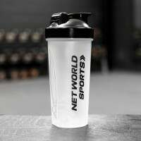 Protein Shaker Bottle (700ml) [Single Black]