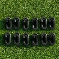 Clips de Filet de Cricket (Lot de 80) - Noir