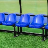 FORZA Plastic Shelter & Stadium Sports Seats [Blue]