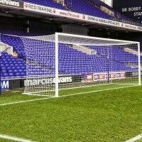 24 x 8 [White] 5mm Stadium/Box Goal Nets [PAIR]
