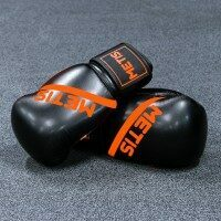 METIS Boxing Gloves [Black 12oz]
