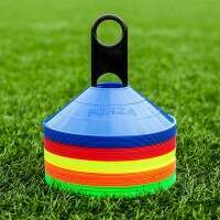 50 FORZA Football Training Marker Cones [Multi Coloured]