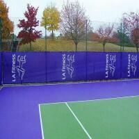 Custom Size & Print Tennis Windscreens & Privacy Screens