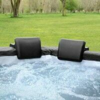 CosySpa Hot Tub Head Rests & Drinks Holder Set [Deluxe]