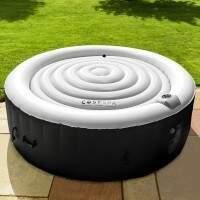 CosySpa Energy Saving Hot Tub Covers [1.25m Diameter | Grey] - 4 Person