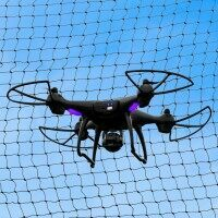 Drone / UAV Enclosure Drop-In Net - 55ft x 10ft x 10ft