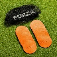 FORZA Mini Flat Disc Markers [Fluorescent Orange]