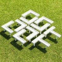 Piezas marcaje multideportivas para campos de césped