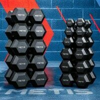 METIS Hex Dumbbell Weights [6lbs]