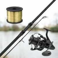 ATLAS Fishing Rod, Reel & Line Combos [10ft Rod - 3.0lb Test Curve]
