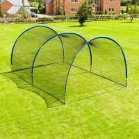 FORTRESS Cage de Frappe Pop-Up de Cricket [6m – Ouvert]