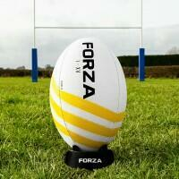 FORZA Helix Rugby Ball – Classic Training Ball [SIZE 4] [PACK OF 1]