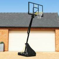 FORZA Adjustable Basketball Hoop And Stand [JS420 ELITE] + Ball + Returner