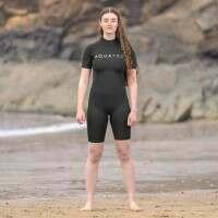 AquaTec Beginner 2mm Shorty Women's Wetsuit - Medium