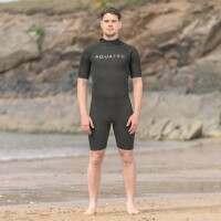 AquaTec Beginner 2mm Shorty Men's Wetsuit - Large